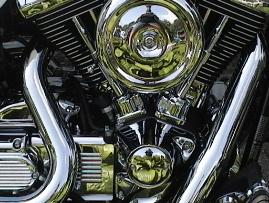 Shiny Chrome motor