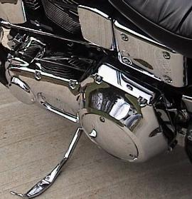 Chrome Transmission Cover